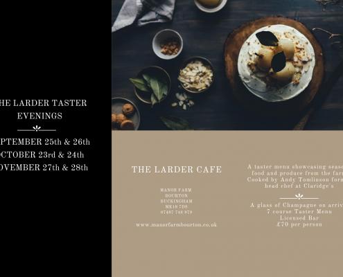 The Larder Taster Evenings