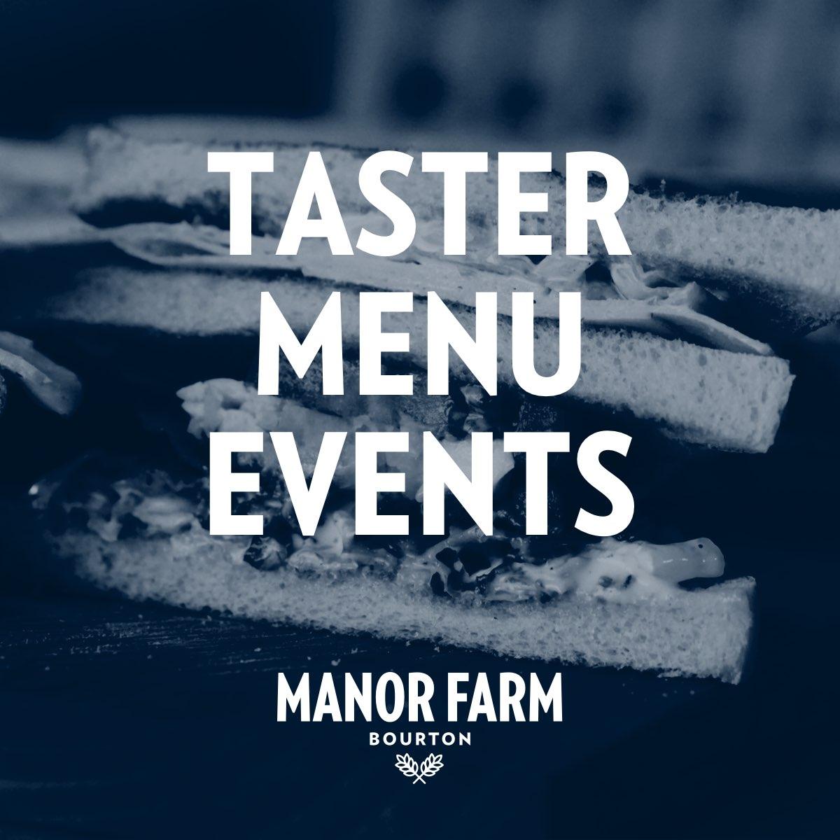 Taster Menu Events
